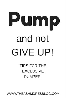 Pump and NOT give up!