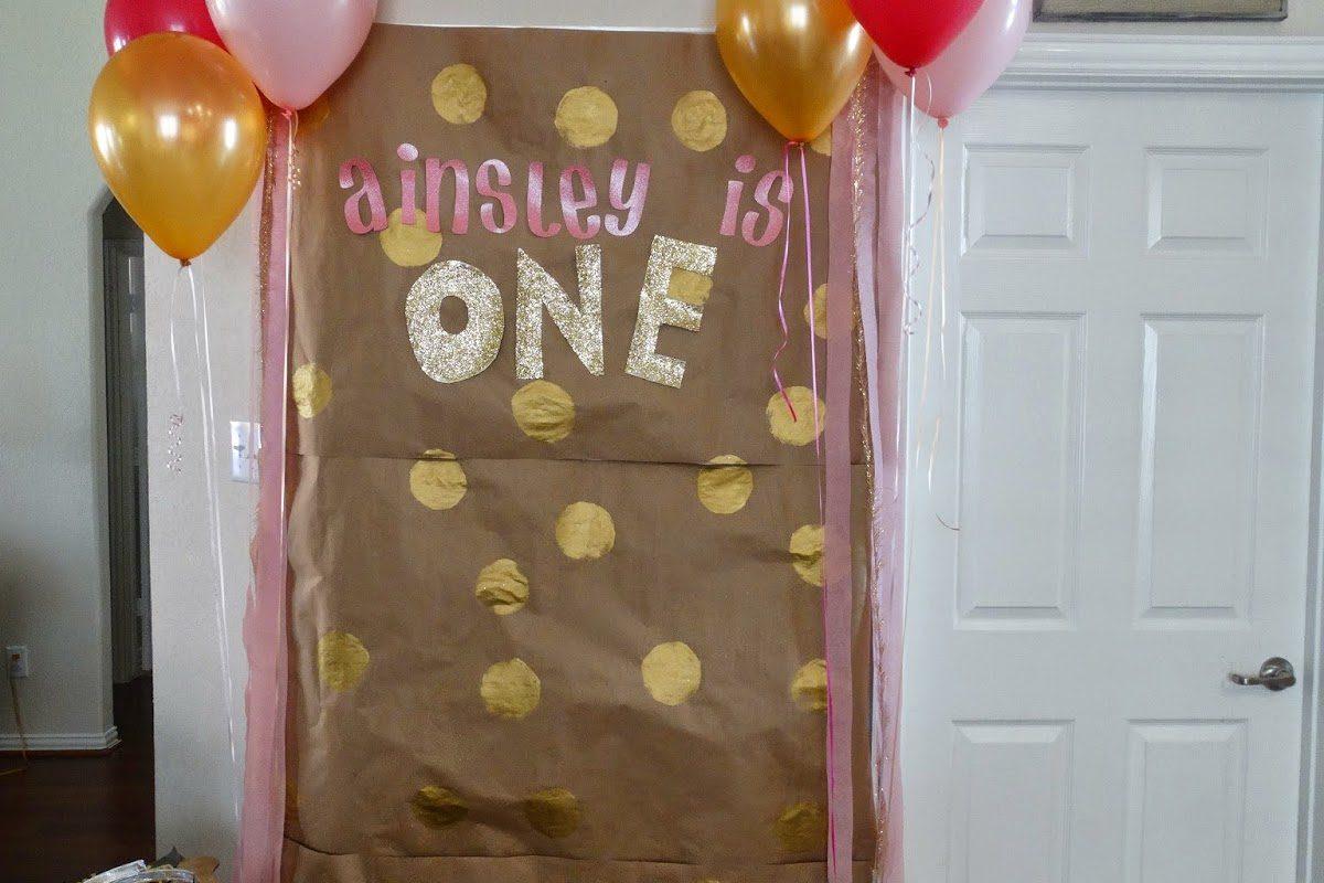 Ainsley's 1st Birthday!