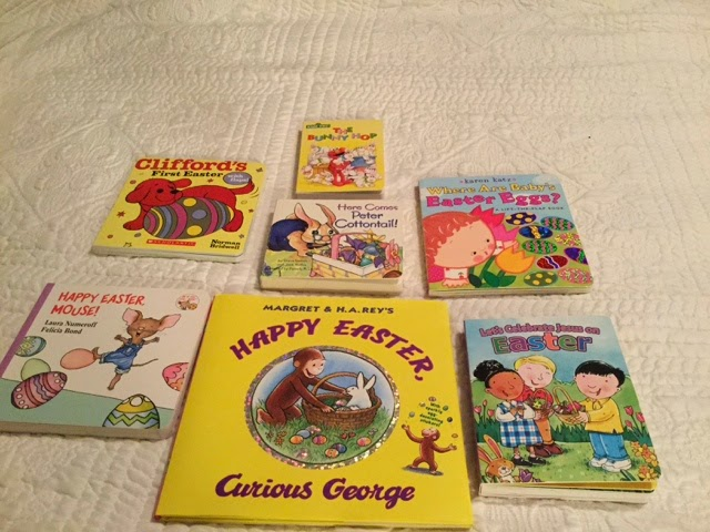 Easter goodies + books!