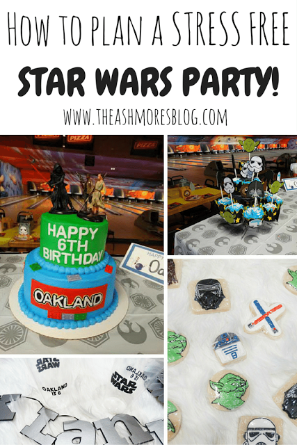 How to plan a STRESS FREE Star Wars party!