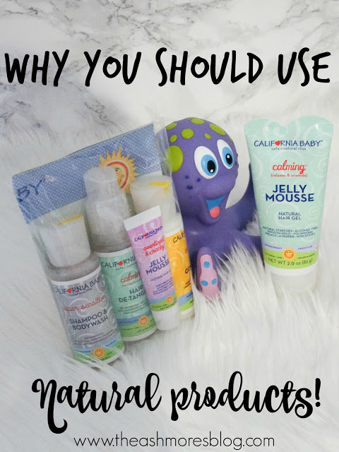 Why you should use NATURAL products on your children