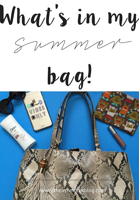 What to carry in your bag this Summer!