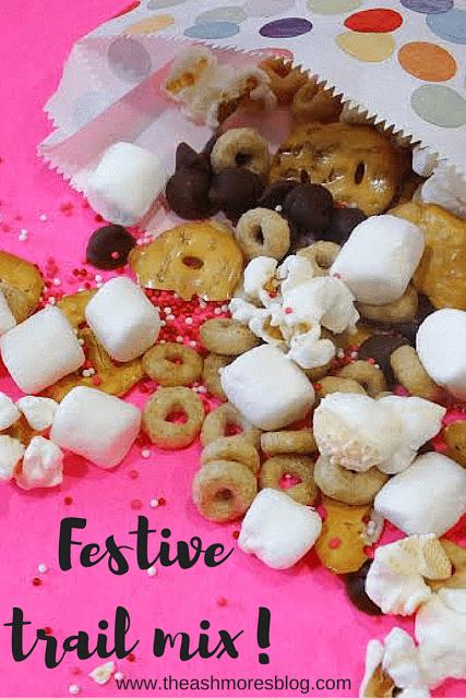 Festive trail mix!