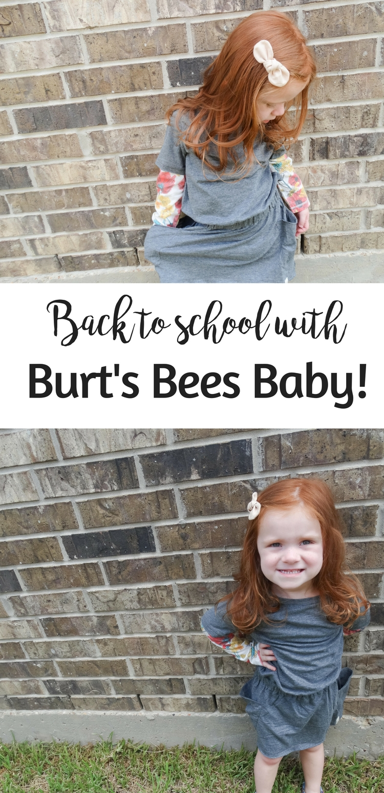 Back to school with Burt's Bees