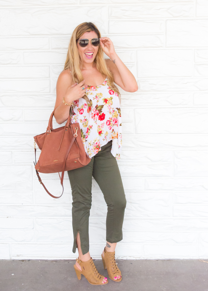 Summer to Fall transition fashion!