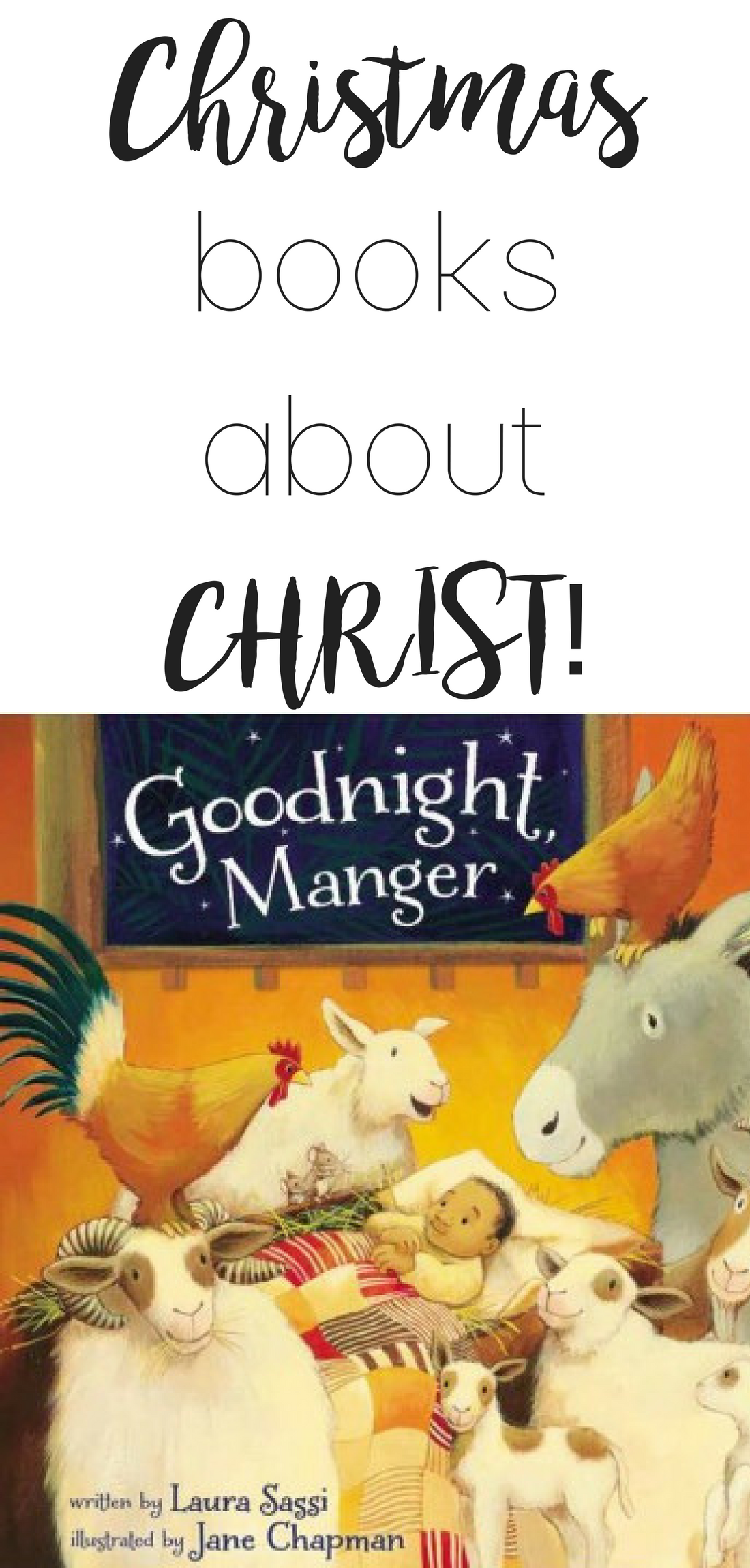 christmas books about Christ