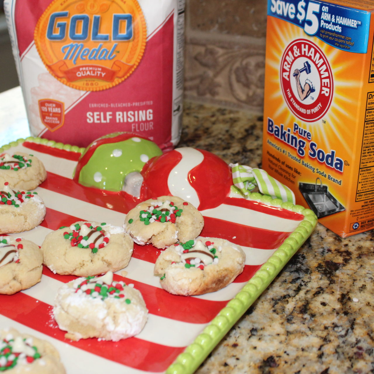 Christmas cookies with a hug!