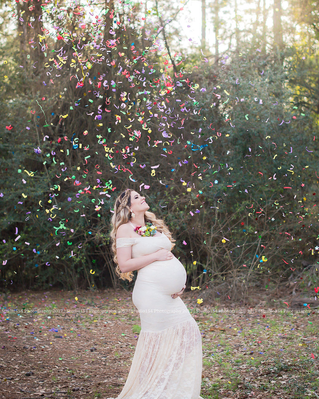 My Rainbow baby Maternity shoot.