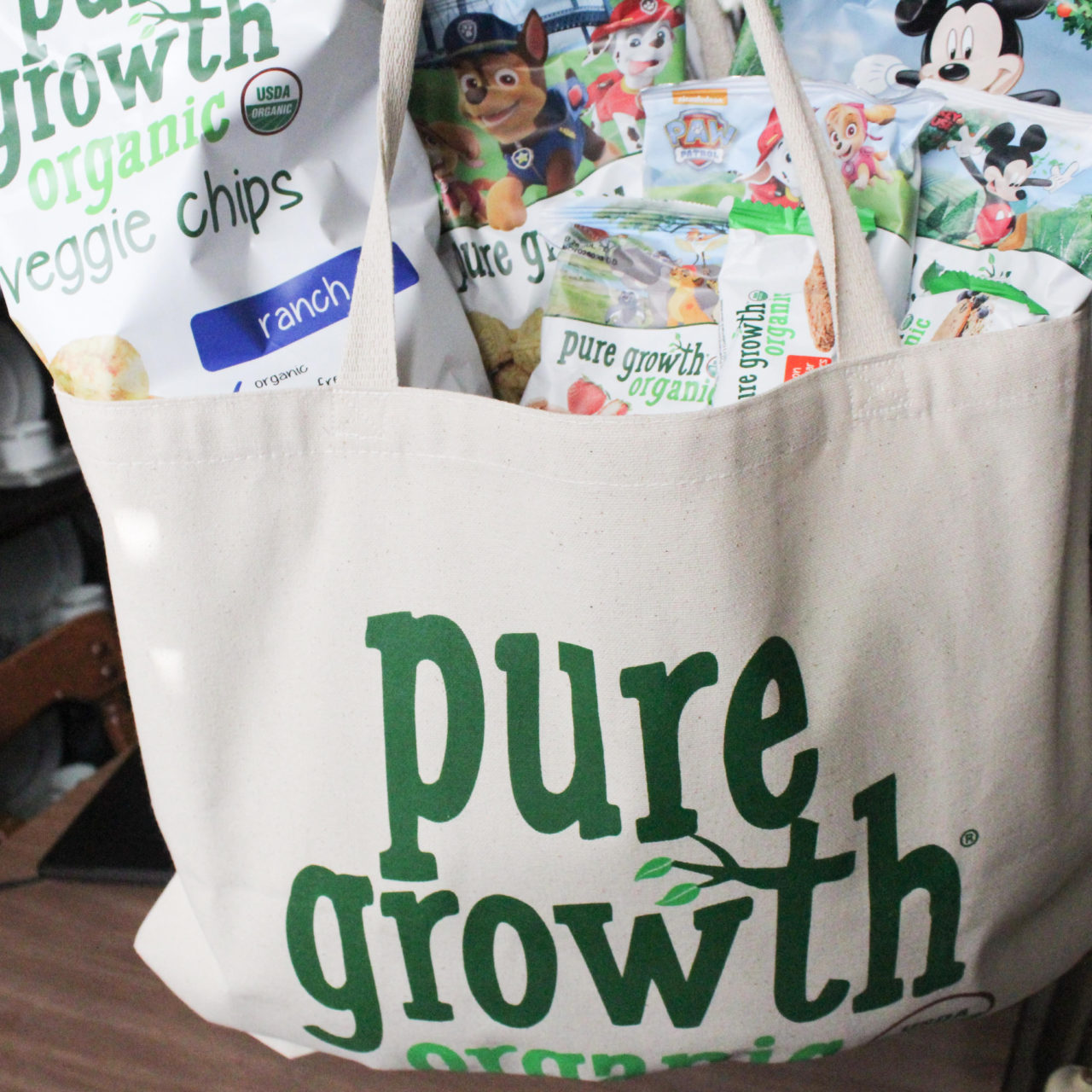 On the go with Pure Growth Organic!