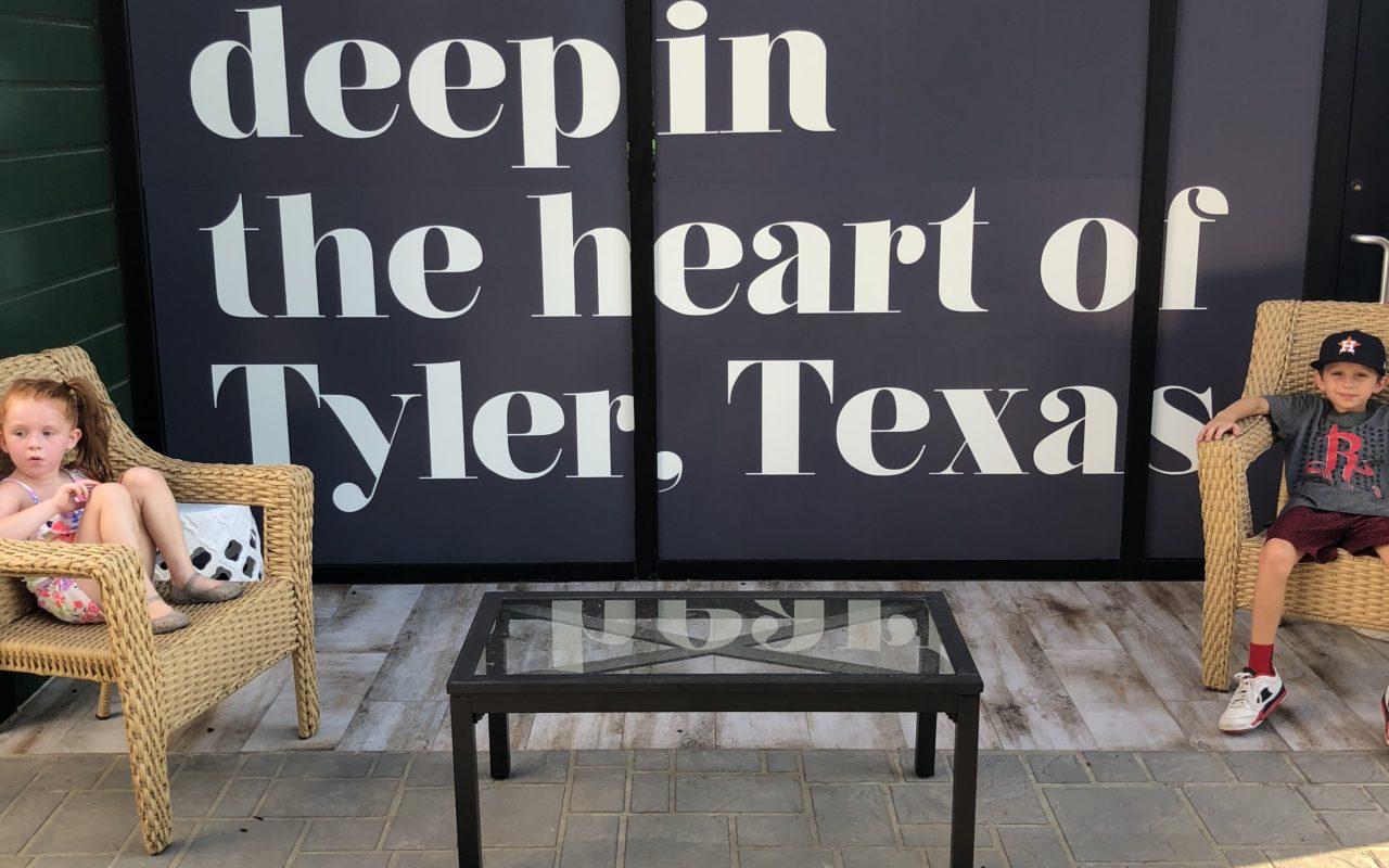 Theashmorestravels to Tyler, Texas!