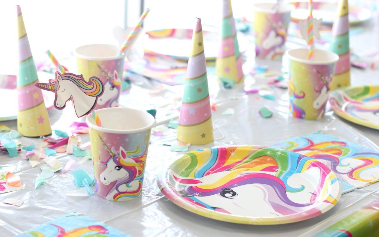 The easiest unicorn party!