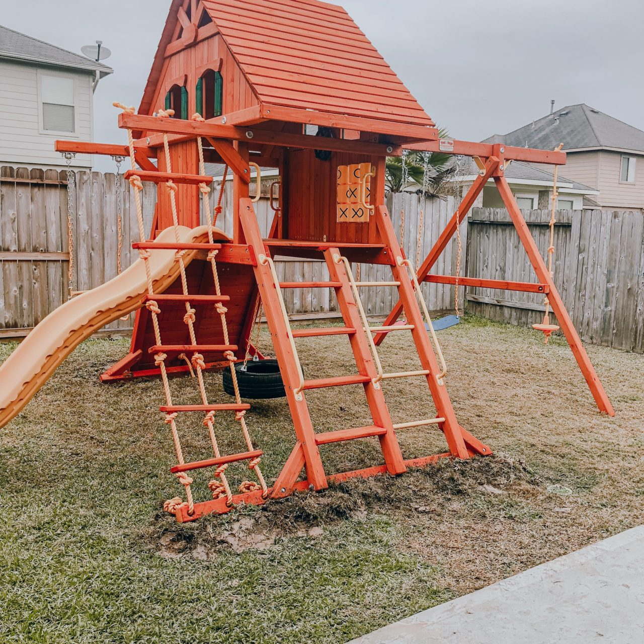 Why you should put a swing set in your backyard