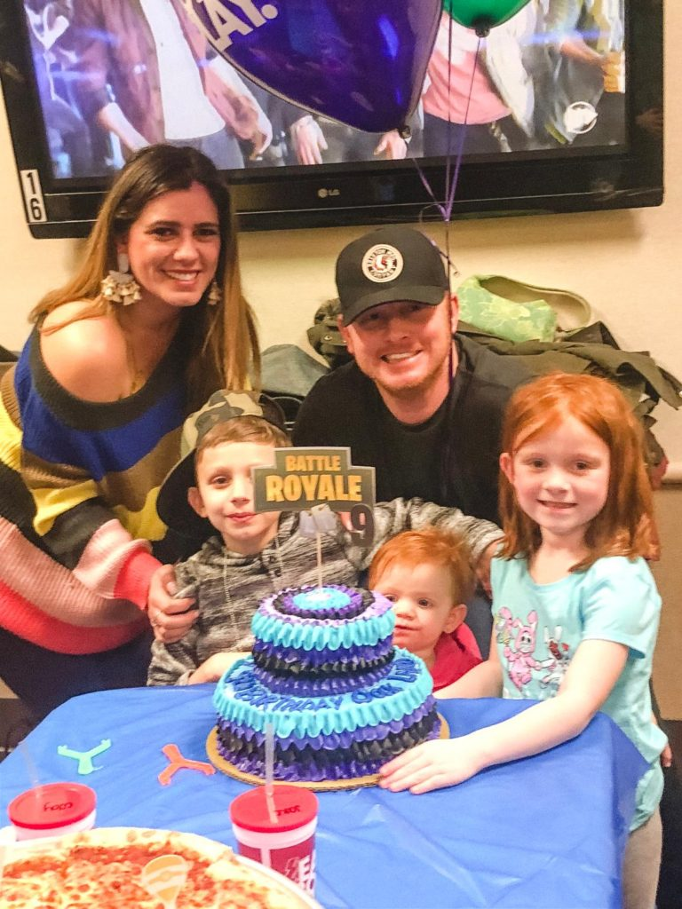 birthday party at Main Event fortnite